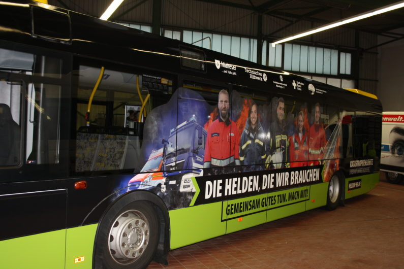 Busverklebung